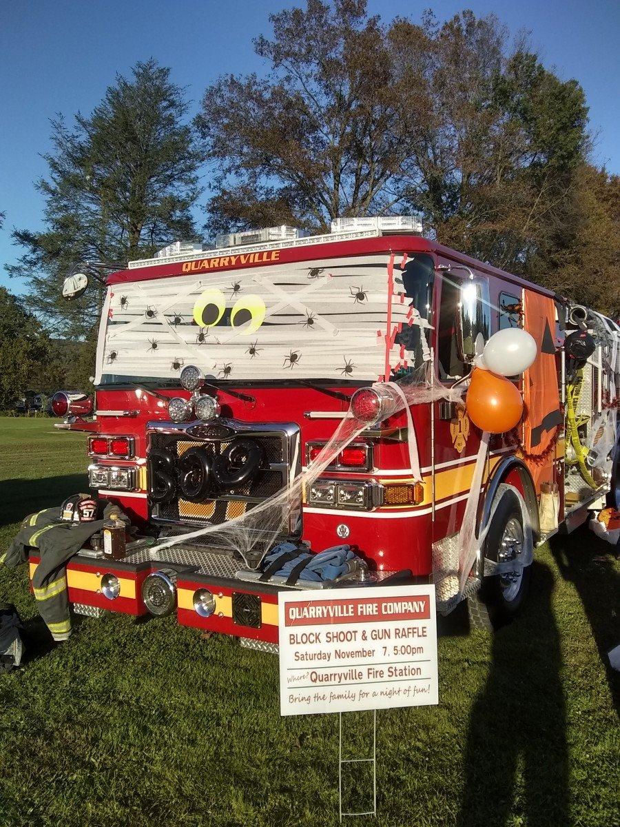 Pennsburg Halloween Parade 2020 Halloween Parade 2020 A Success | Quarryville Fire Department